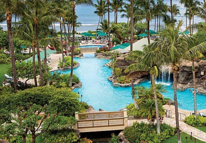 Marriott Maui Ocean Club OCEANFRONT 2BR 3BA