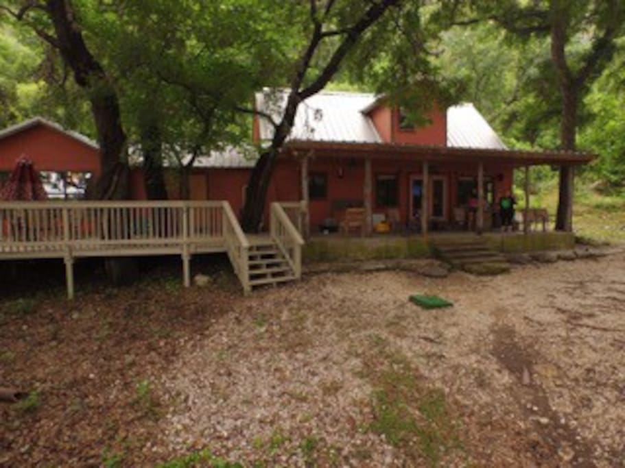 Casa Rojo On The Frio River Cabins For Rent In Concan