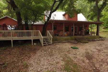 Casa Rojo on the Frio River - Concan - 独立屋