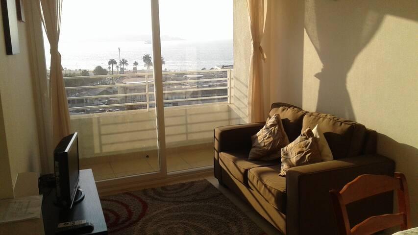 Apartamento con vista al mar
