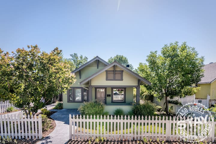 Bungalow on Vine - 2 Blocks from Downtown