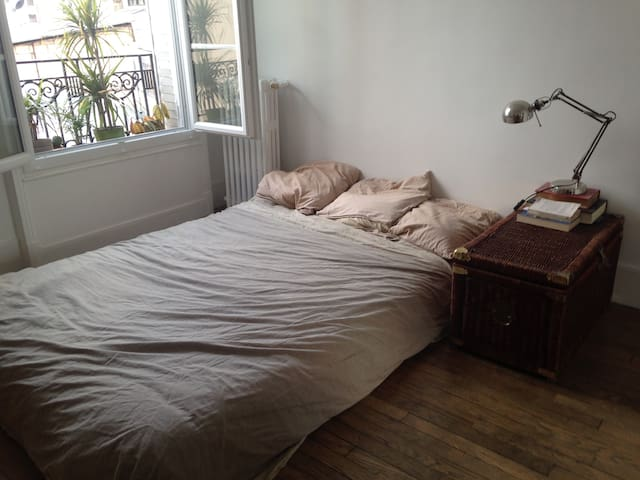 Spacious and 2 rooms studio, 10 min from Paris