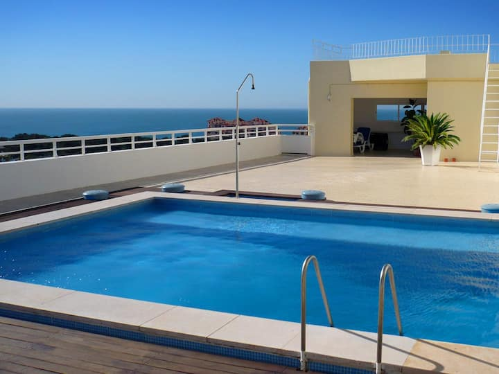 Studio XL Cascais - Pool sea view