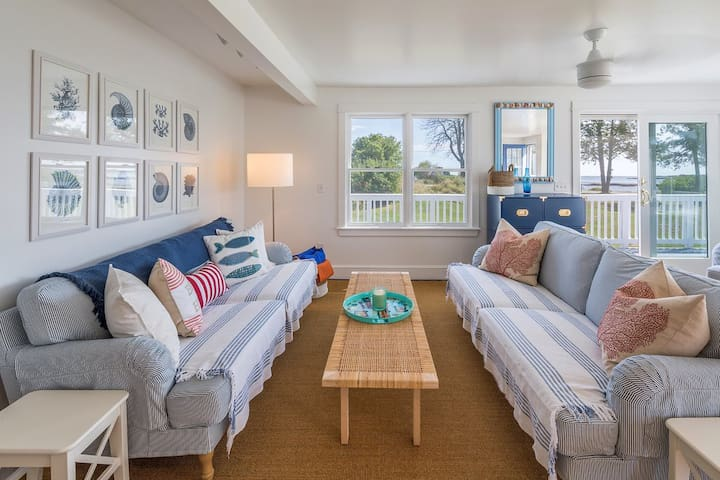 Living room perfect for connecting with friends and family.