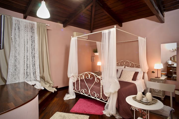Double room-Romantic-with Shower-Garden View