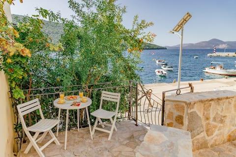 Sea View Apartment  from Terrace in Bigova Jaz