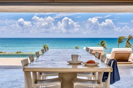 Stunning Eco-Luxury Villa on Caribbean Sea