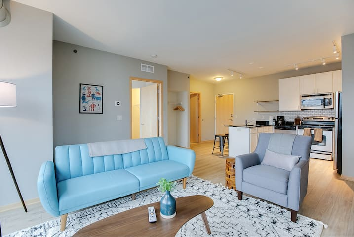 Luxury 1BR Flat in the Heart on Minneapolis