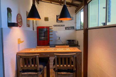 Apto com área Gourmet em Peracanga - Enseada Azul
