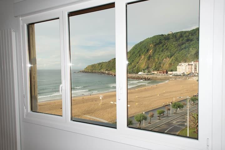 Apartamento en la playa Zurriola