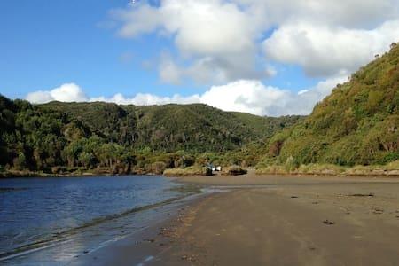 Ancud Cabaña con vista al río Duhatao