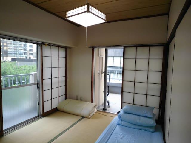 Japanese style 2bedrooms flat@West Shinjuku - Shinjuku-ku - Apartment