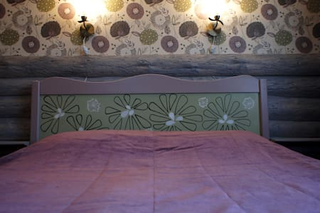 Cozy double at Baikal guesthouse Fedorov Dvor