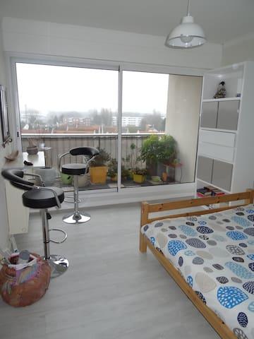 Bel Appartement aux portes de Lille - Marcq-en-Barœul - Apartemen