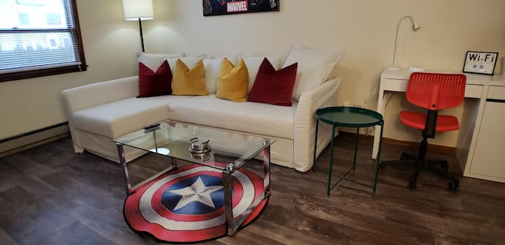 Marvel AvengersThemed Apt/Disney+/YouTubeTV/WiFi