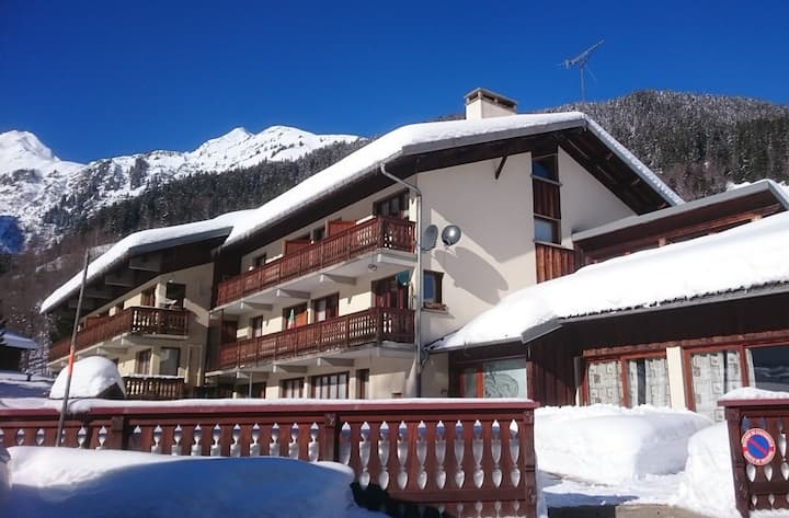 Apartment for 7 people on the slopes