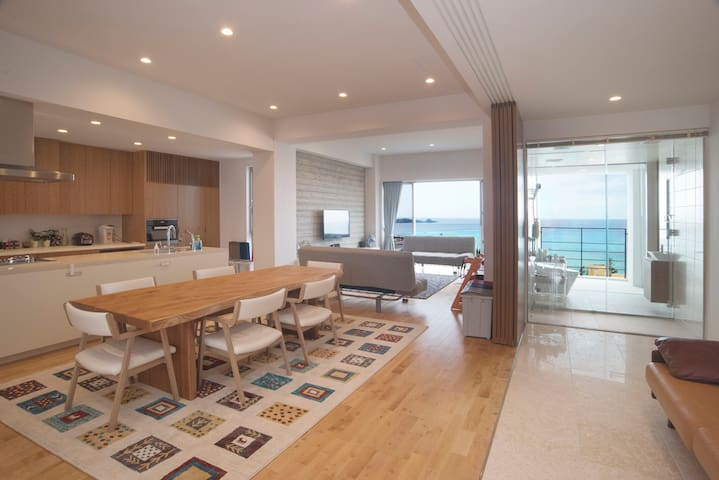 Seaveiw 250㎡ ONNA 2 big suites, 3 full bath 3F K