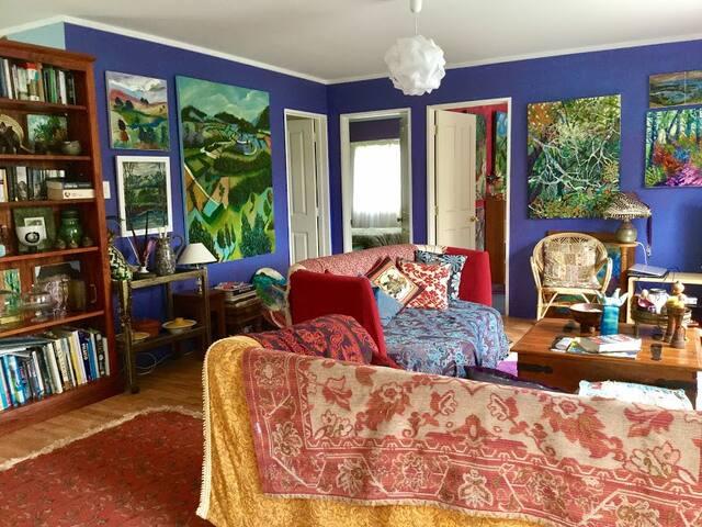 Bohemian Artist Home, Lake View, Internet