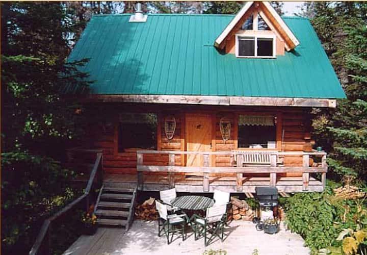 Moose Creek Cabins Log Chalet