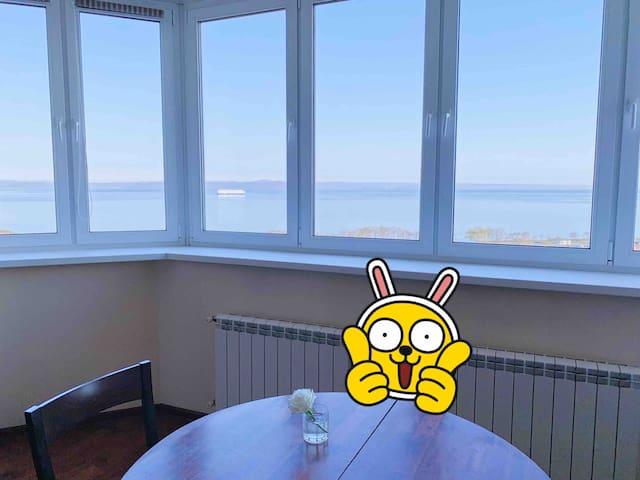 Роскошная квартира с видом на море в центре города