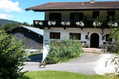 Ferienwohnung am Fuße des Watzmann neu renoviert - Ramsau bei Berchtesgaden - Huoneisto