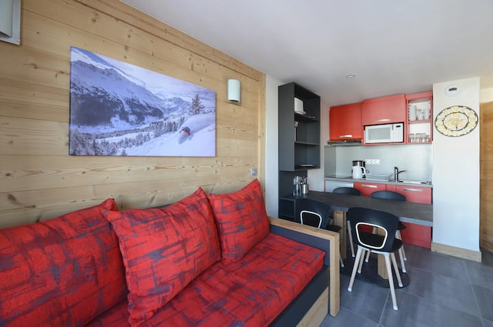 Nice apartment in a family resort at the bottom of the slopes