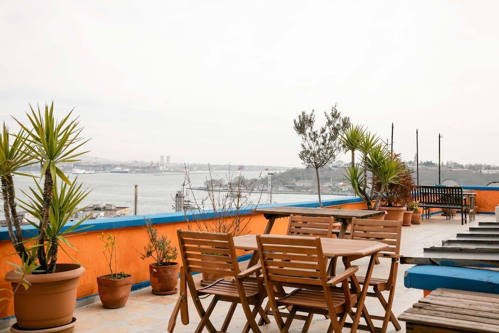 Shared Huge Terrace with Panaromic View