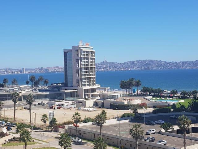 Departamento vista al mar a pasos de la playa 31