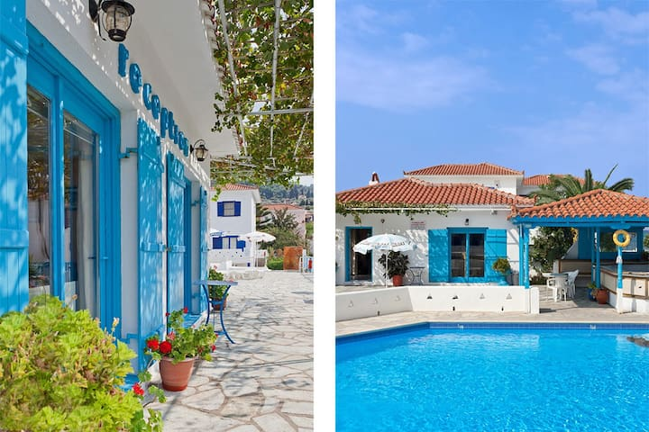 Seafront Apartment for 2-4, with shared pool - Skopelos - Apartment
