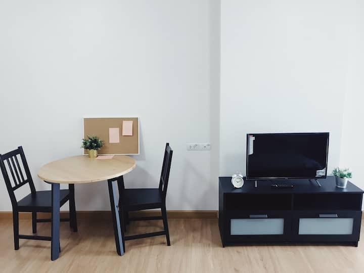 minimalist studio 15fl @Supalai loft