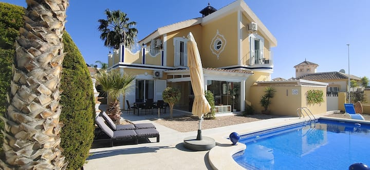 Wonderful Villa ,PRIVATE POOL,Mazarron