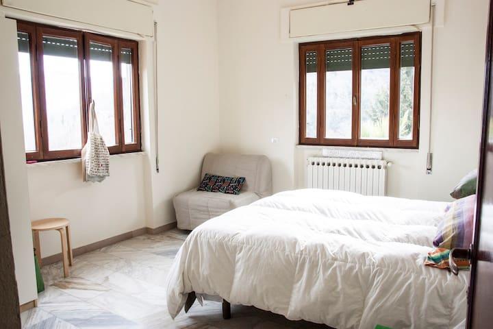 Country House Il Casone: stanza 23 La Nocciola - Anticoli Corrado - 自然小屋