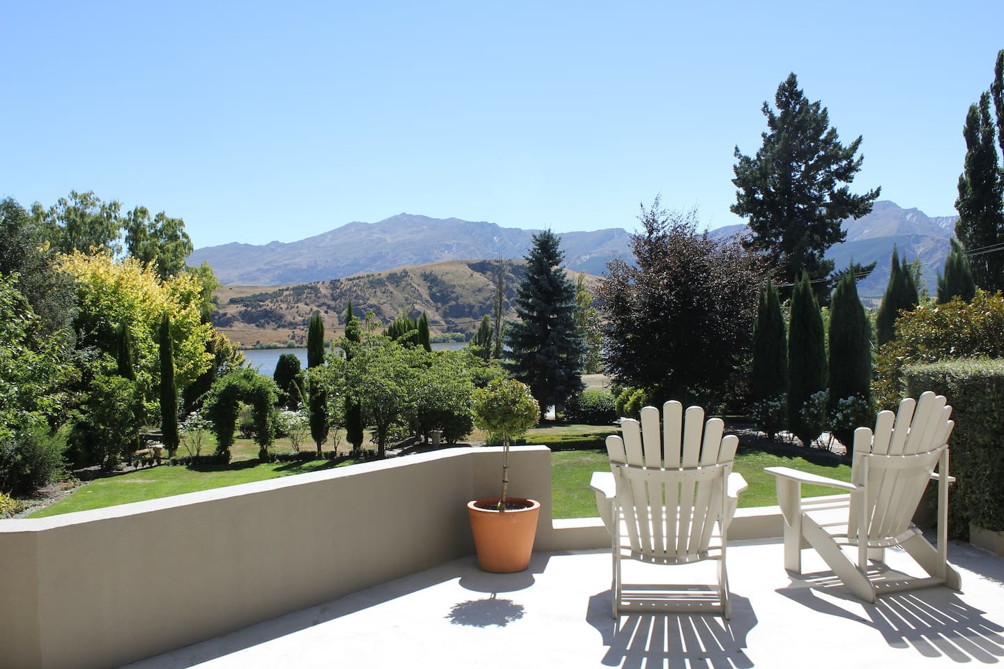 View from the Patio