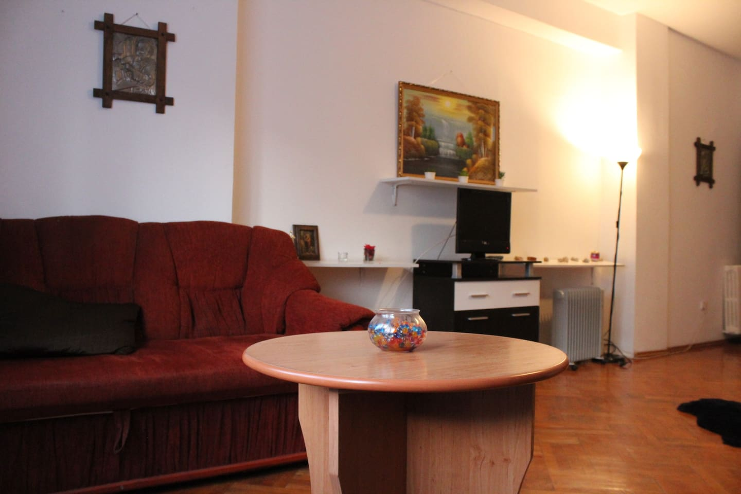 The Luxury Room - Sofa and Table, area to relax whilst staying with us!