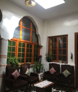 Typical Moroccan house