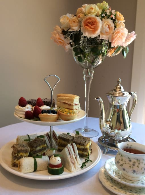 Welcome High Tea on arrival.