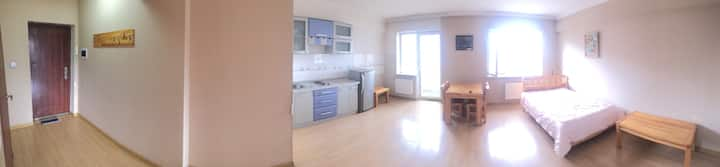 One Room Apartment with Appliances, Long term rent