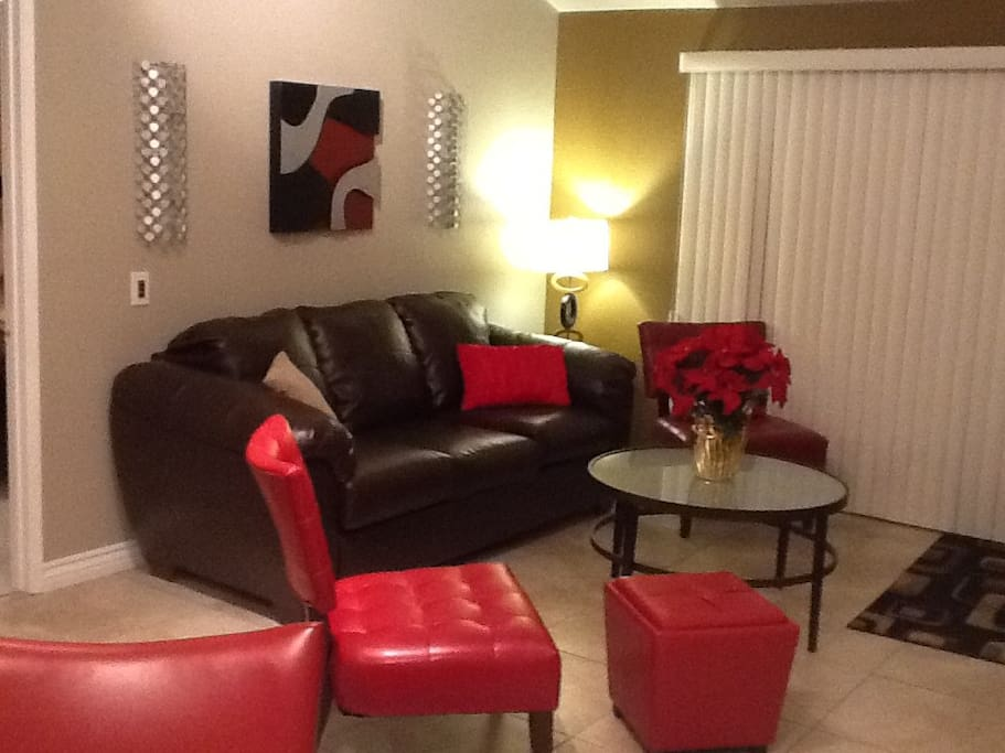 Fresh newly remodeled Open living space