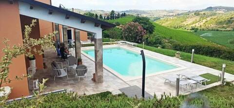 Luksusophold OLIO, 2 P, pool, pr. udendørsområde