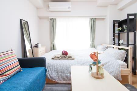16 SHIBUYA7min/Free wifi/MAX 3Guest - Shinagawa-ku