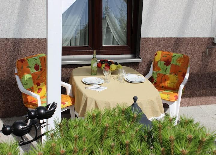 4-Bettwohnung mit Terrasse im Westerwald (Fewo II)