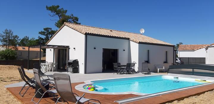 Maison familiale avec piscine à Saint Jean de Monts