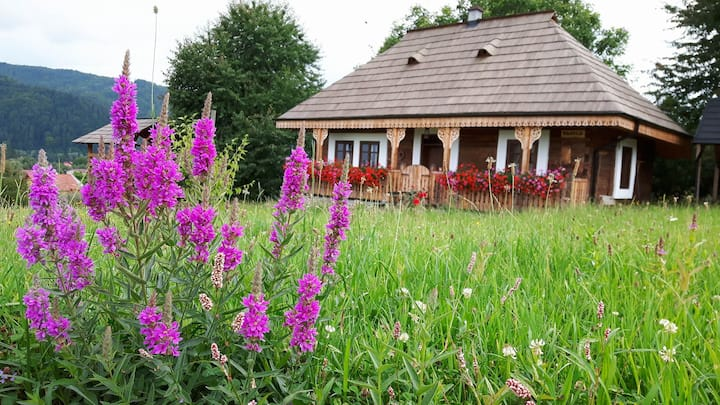 La Roata Pension - 5 Authentic Bucovina Cottages