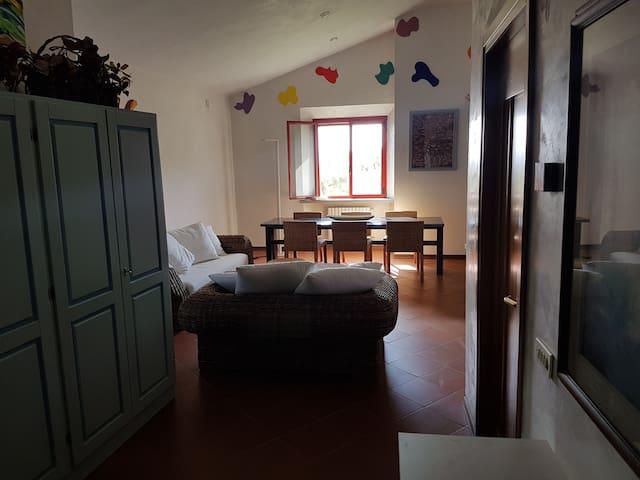 Salone e soggiorno