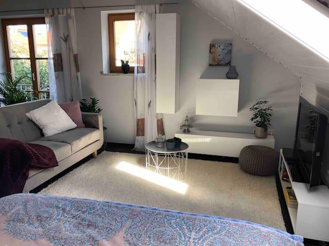 Moderne kleine Wohnung zentrumsnah