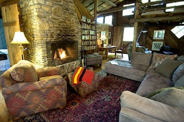 Snooze by the fire or read a book/magazine out of our extensive library.