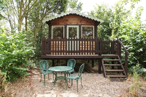 Shed and Breakfast at Greenbanks, Norfolk