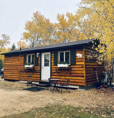 Pequeña casa en el campo