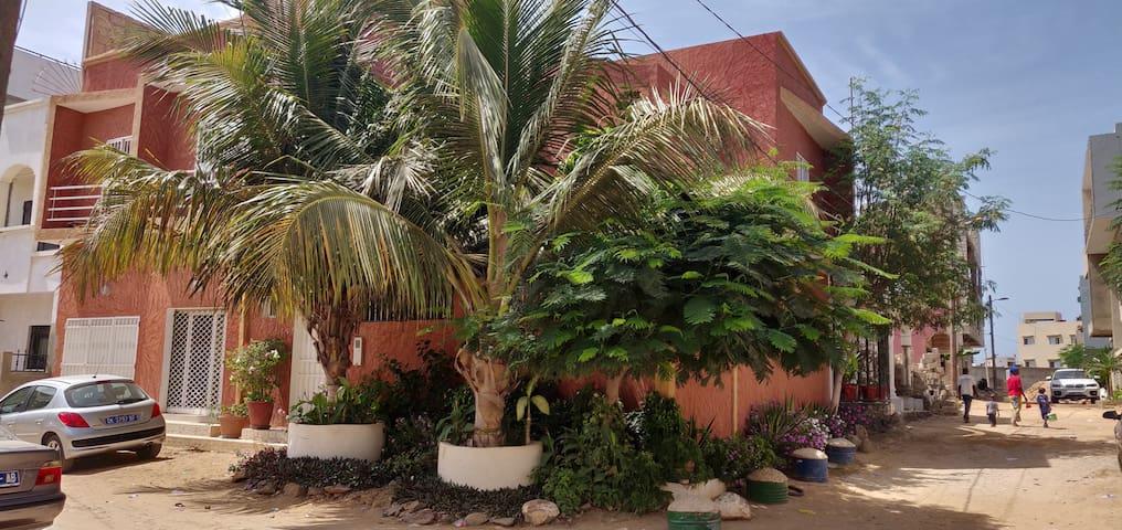 2 chambres à louer  à Ouakam DAKAR