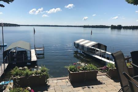 Jump Off the Dock Vacation on Lake Minnetonka